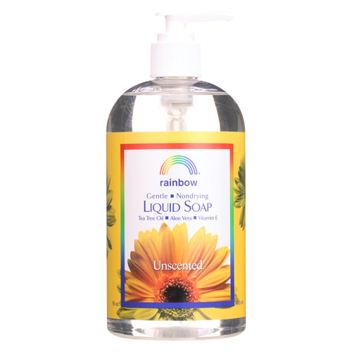 Rainbow Research Liquid Soap - Gentle NonDrying - Unscented - 16 fl oz