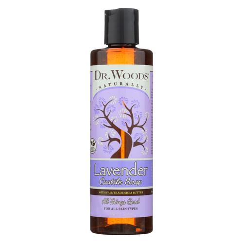 Dr. Woods Shea Vision Pure Castile Soap Lavender with Organic Shea Butter - 8 fl oz