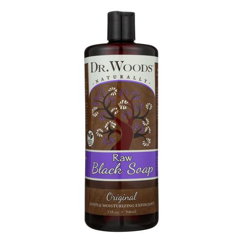 Dr. Woods Pure Black Soap - 32 fl oz