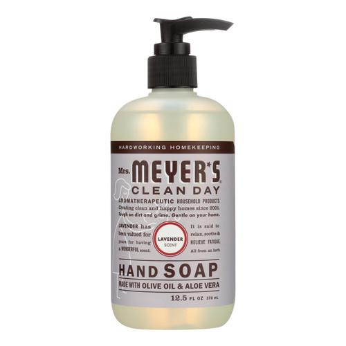 Mrs. Meyer's Liquid Hand Soap - Lavender - Case of 6 - 12.5 oz
