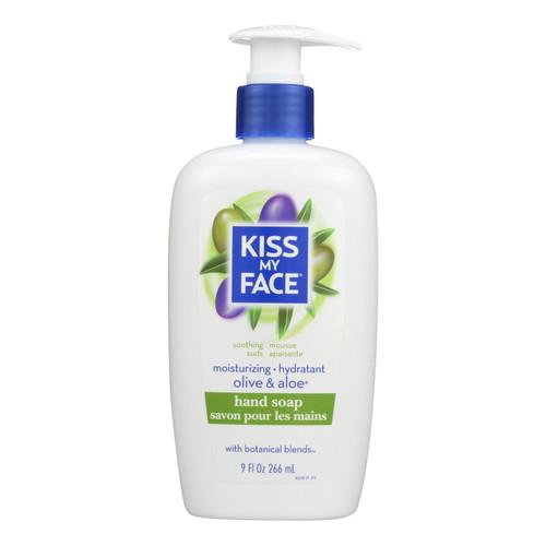 Kiss My Face Moisture Soap Olive And Aloe - 9 fl oz