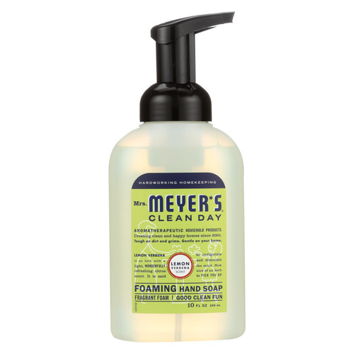 Mrs. Meyer's Foaming Hand Soap - Lemon Verbena - Case of 6 - 10 fl oz