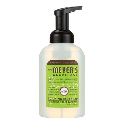 Mrs. Meyer's Foaming Hand Soap - Apple - Case of 6 - 10 fl oz