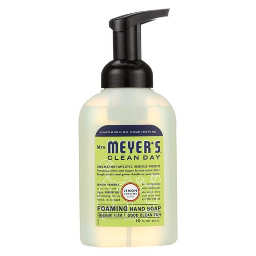Mrs. Meyer's Foaming Hand Soap - Lemon Verbena - 10 fl oz