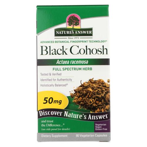 Nature's Answer Black Cohosh Root - 90 caps