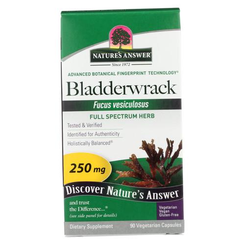 Nature's Answer Bladderwrack Thallus - 90 Vegetarian Capsules