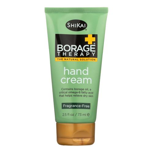 Shikai Borage Therapy Hand Cream Unscented - 2.5 fl oz