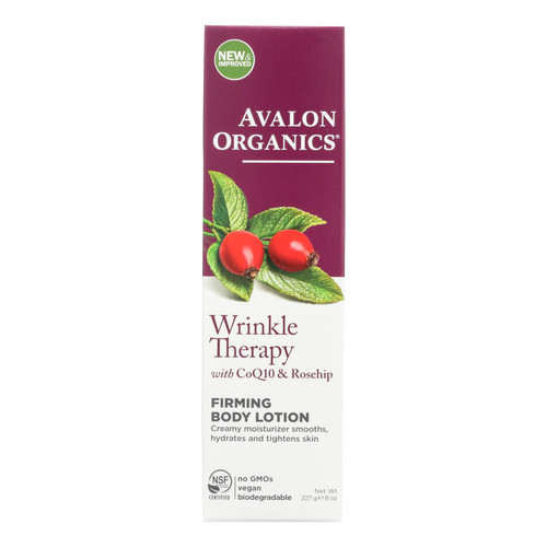 Avalon Organics Ultimate Firming Body Lotion Coenzyme Q10 - 8 fl oz