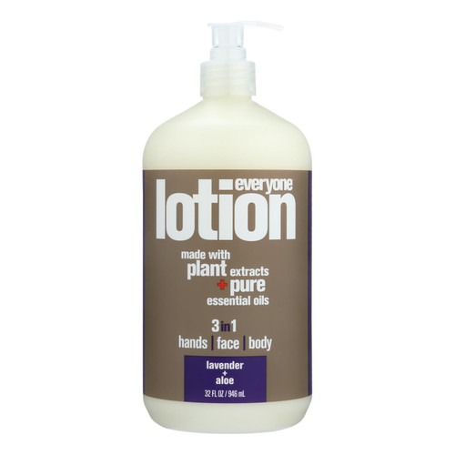 EO Products EveryOne Lotion Lavender and Aloe - 32 fl oz