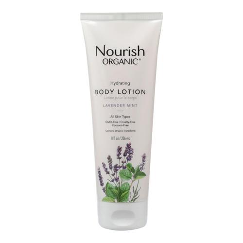 Nourish Organic Body Lotion Lavender Mint - 8 fl oz