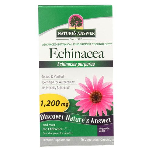 Nature's Answer Echinacea Herb - 90 Vcaps