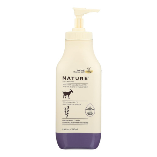 Nature By Canus Lotion - Goats Milk - Nature - Lavender Oil - 11.8 oz
