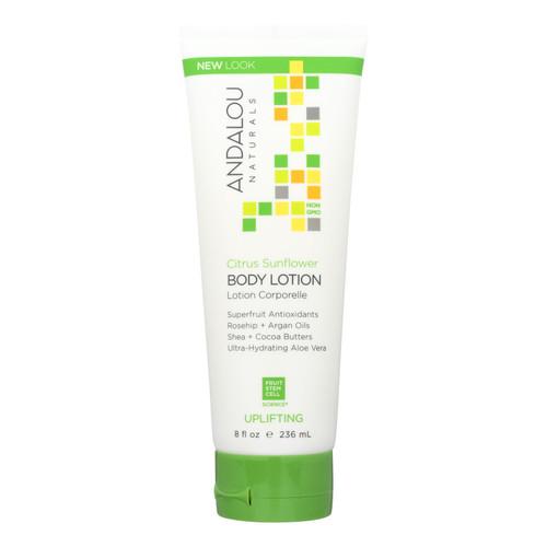 Andalou Naturals Body Lotion - Citrus Verbena Uplifting - 8 fl oz