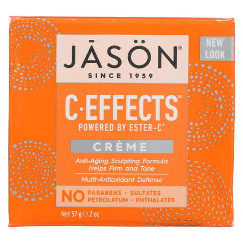 Jason Pure Natural Creme C Effects Powered By Ester-C - 2 oz