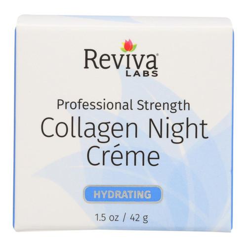 Reviva Labs Collagen Night Cream - 1.5 oz