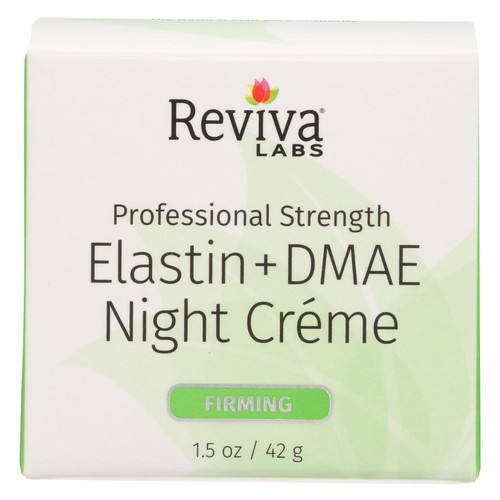 Reviva Labs Elastin and DMAE Night Cream - 1.5 oz