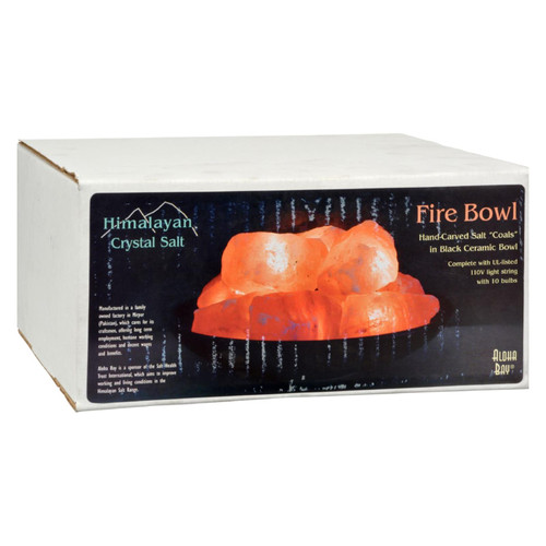 Himalayan Salt Fire Bowl with Stones - 1 ct