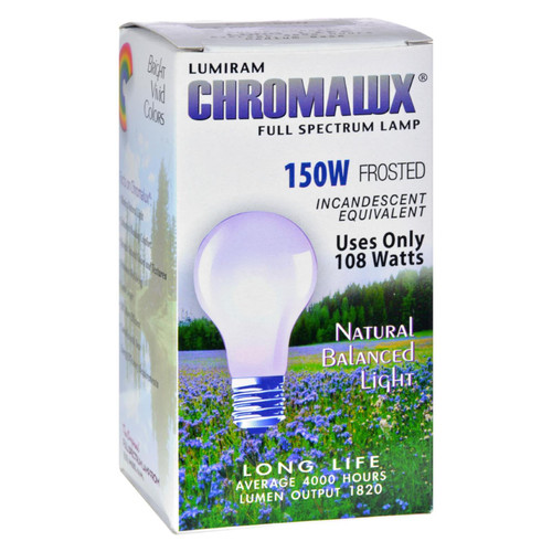 Chromalux Frosted Light Bulb - 150 Watt - 150 Bulb