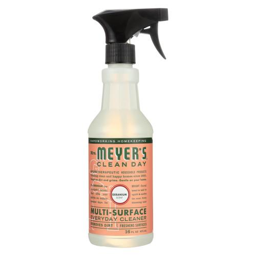 Mrs. Meyer's Multi Surface Spray Cleaner - Geranium - 16 fl oz