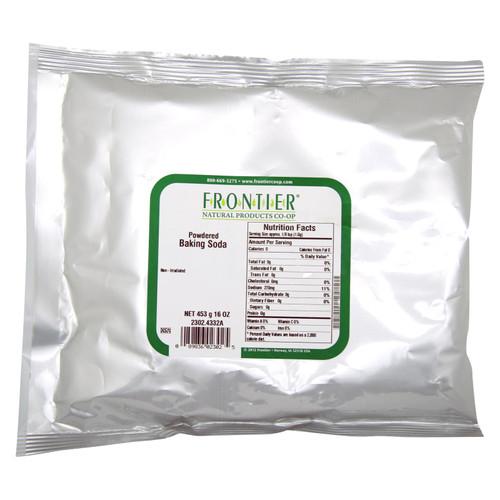 Frontier Herb Baking Soda Powder - Bulk - 1 lb