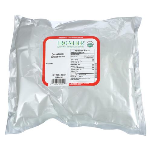Frontier Herb Cornstarch - Organic - Bulk - 1 lb