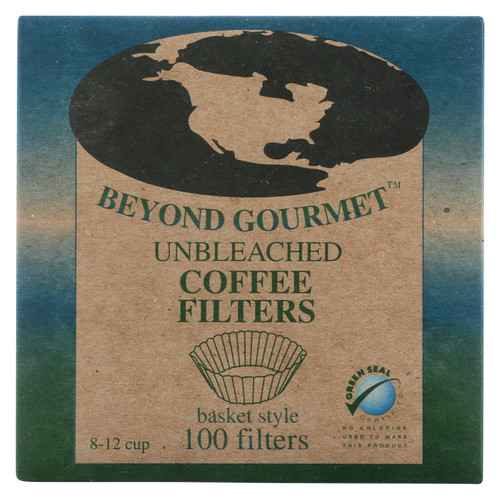 Unbleached basket coffee filter