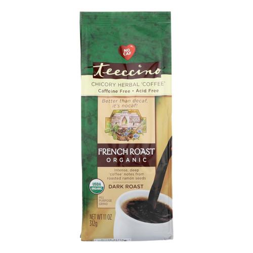 Teeccino Organic Herbal Coffee - French Roast - 11 oz