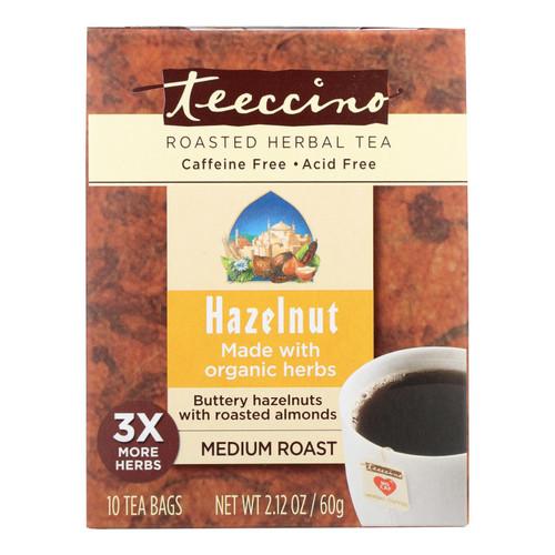 Teeccino Organic Tee Bags - Mediterranean Hazelnut - 10 Bags