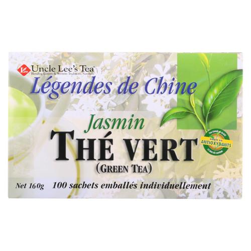 Uncle Lee's Legend of China Green Tea Jasmine - 100 Tea Bags