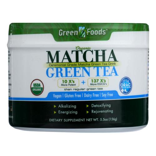 Green Foods Organic Matcha Green Tea - 5.5 oz