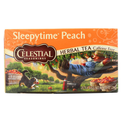 Celestial Seasonings Herbal Tea Sleepytime P - Case of 6 - 20 Bag