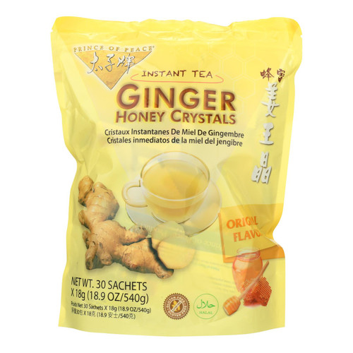Prince of Peace Ginger Honey Crystals - 30 count