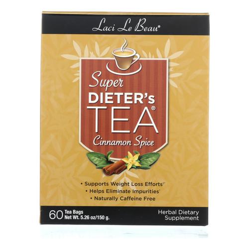 Laci Le Beau Super Dieter's Tea Cinnamon Spice - 60 Tea Bags