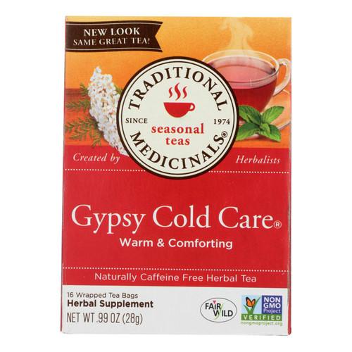 Traditional Medicinals Gypsy Cold Care Herbal Tea - 16 Tea Bags - Case of 6