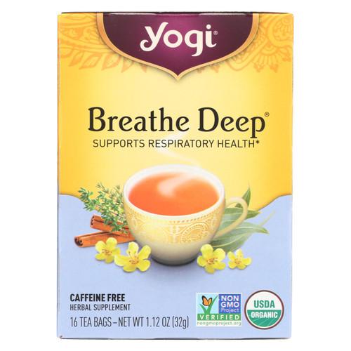 Yogi Tea Breathe Deep - Caffeine Free - 16 Tea Bags