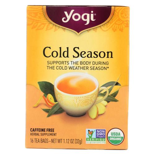 Yogi Tea Cold Season - Caffeine Free - 16 Tea Bags