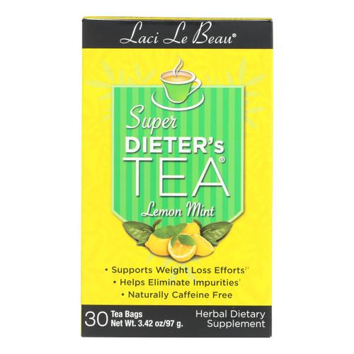 Laci Le Beau Super Dieter's Tea Lemon Mint - 30 Tea Bags