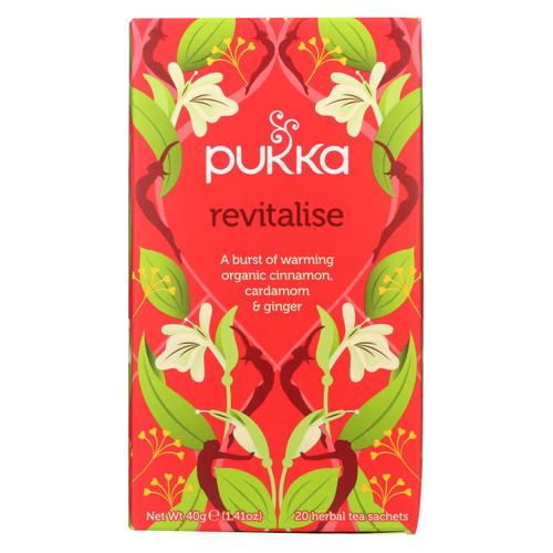 Pukka Herbal Teas Revitalise - Organic Cinnamon and Ginger Tea - 20 Bags