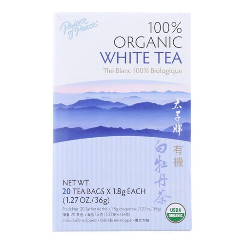 Prince of Peace Organic Premium Peony White Tea - 20 Tea Bags