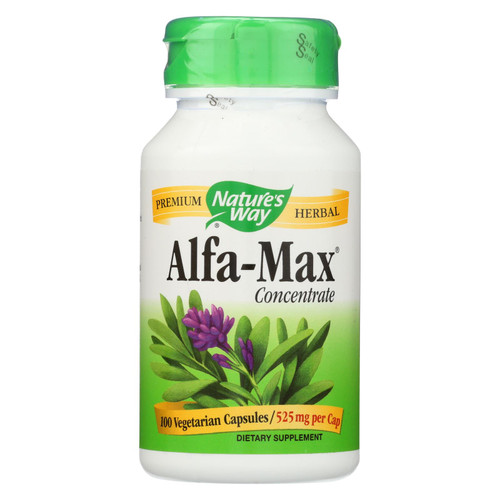 Nature's Way Alfa-Max 10X Concentrate - 100 Capsules on  Appalachian Organics