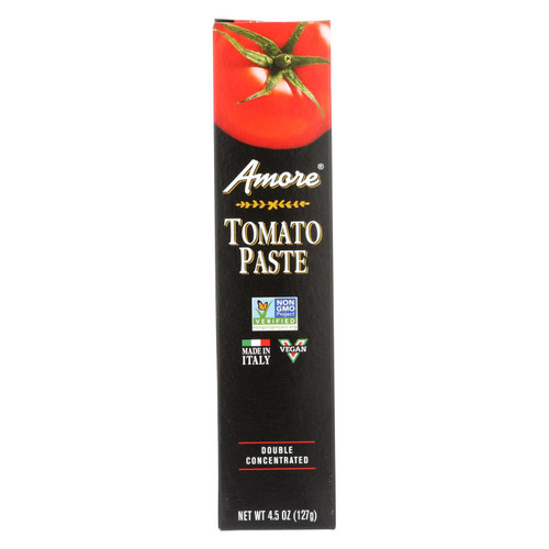 Amore Double Concentrated Tomato Paste - Tube - 4.5 oz