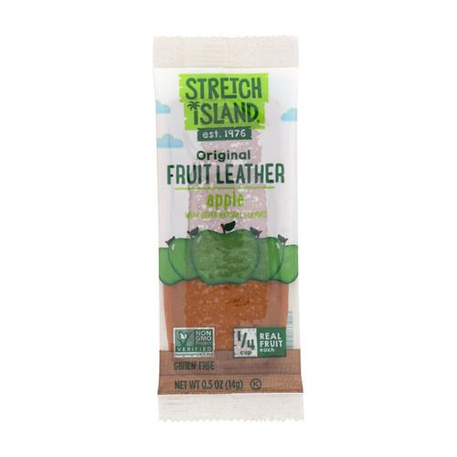 Stretch Island Fruit Leather Strip - Autumn Apple - .5 oz - Case of 30