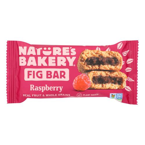 Nature's Bakery Stone Ground Whole Wheat Fig Bar - Raspberry - 2 oz - Case of 12