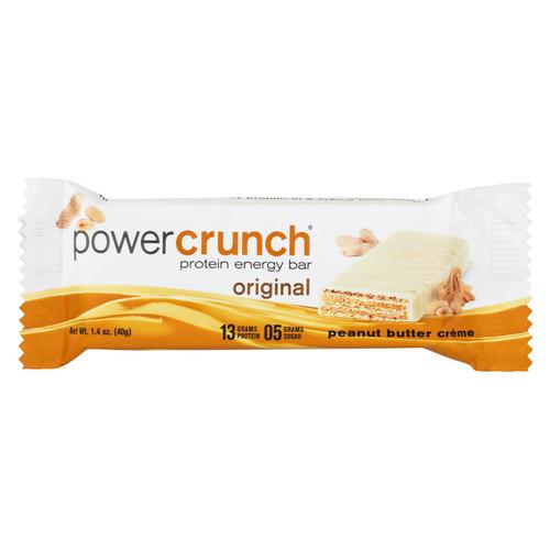 Power Crunch Bar - Peanut Butter Cream - Case of 12 - 1.4 oz