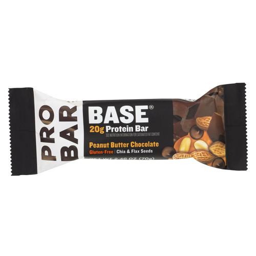 Probar Peanut Butter Chocolate Core Bar - Case of 12 - 2.46 oz