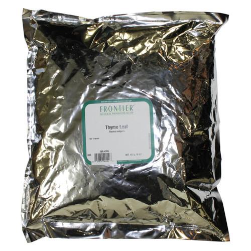 Frontier Herb Thyme Leaf - Flakes - Fancy Grade - Bulk - 1 lb