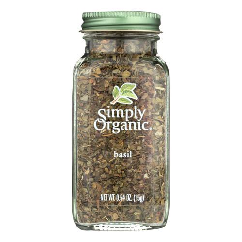 Simply Organic Basil Leaf - Organic - Sweet .54 oz