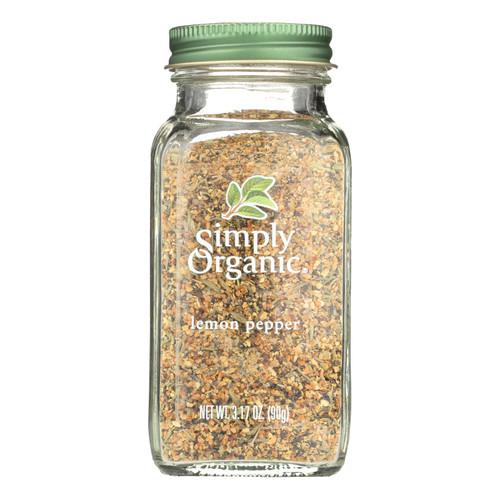 Simply Organic Lemon Pepper - Organic - 3.17 oz