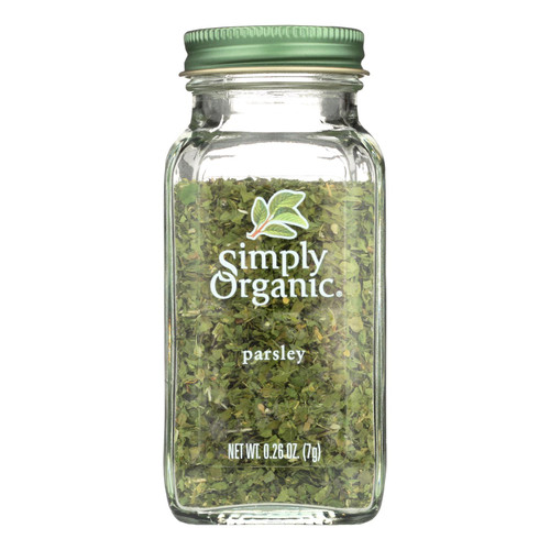 Simply Organic Parsley Leaf - Organic - .26 oz