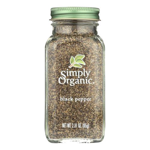 Simply Organic Black Pepper - Organic - Medium Grind - 2.31 oz